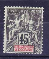 Océanie N°19 Neuf Charniere - Océanie (Établissement De L') (1892-1958)