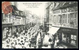 CPA. MONTEREAU-Fault -YONNE. Concours De Gymnastique Du 20 Mai 1907. Patronage Français. - Montereau