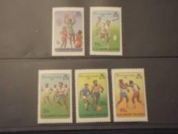 SOLOMON - 1981 SPORT 4 Valori - NUOVI(++)-TEMATICHE - Isole Salomone (1978-...)