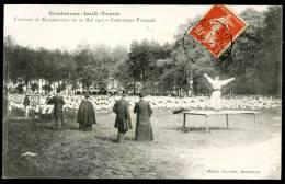 """CPA. MONTEREAU-Fault -YONNE. Concours De Gymnastique Du 20 Mai 1907. Patronages Français. """"Officiels"""" - Montereau"""