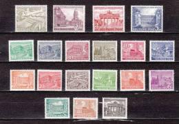 GERMANY-BERLIN-1949-Sc#9N-42-60---MINT NH VF Sc$ 700.00 SELL $ 215.00 - [5] Berlín