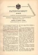 Original Patentschrift - H. Knoost In Markoldendorf , Kr. Einbeck ,1891 , Einstellbarer Arbeitstisch , Architekt , Möbel - Möbel