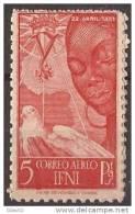 IF72-LA402TCSC.Marroc.Marocco. IFNI  ESPAÑOL.Aereo. Isabel La  Catolica.1951.(Ed 72**) Sin Charnela.MAGNIFICO - Sin Clasificación