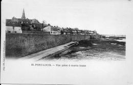 56 PORT LOUIS  VUE GENERALE PRISE A MAREE  BASSE      EDITION LAUSSEDAT  ETAT IMPECCABLE - Port Louis