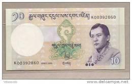 Bhutan - Banconota Non Circolata Da 10 Ngultrum - 2006 - - Bhutan
