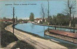 (18) BEFFES. Ecluse Et Garage De Bateaux - France