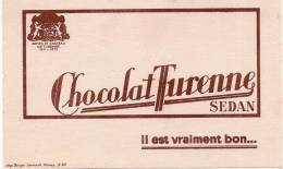 Chocolat Turenne / SEDAN/ Berger Levrault/Nancy/vers 1950                  BUV36 - Chocolat