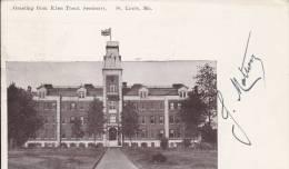 CPA  ETATS-UNIS -  Gretting From Eden Theol. Seminary  SAINT-LOUIS , Mo. - St Louis – Missouri