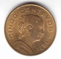 @Y@   Mexico 5 Centavos 1971   (2104) - Mexico
