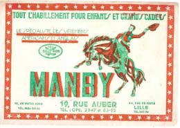Habillement Pour Enfants Et Grands Cadets / Manby/Lille/ Vers 1950               BUV31 - Textile & Clothing