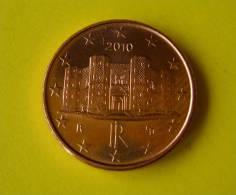 EURO COIN 1 Cent EURO ITALIA - 2010 MONETA - ITALY- ITALIEN COIN - FDC - Italia