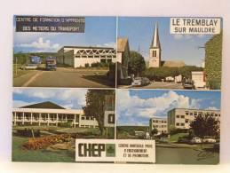 CPA 78 Yvelines - LE TREMBLAY SUR MAULDRE - Centre De Formation Des Apprentis - Centre Privé Enseignement Horticole - Frankreich