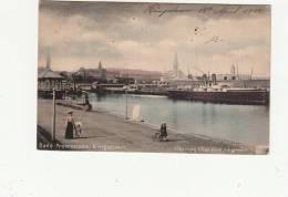 Post Card, Kingstown. Irlanda - Band Promenade - Used 1904 - Ireland