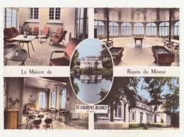 ST-LAURENT-BLANGY - CPSM - MULTIVUES - LA MAISON DE REPOS DU MINEUR - - Saint Laurent Blangy