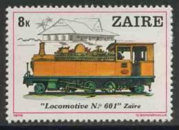 Zaire 1980 Mi 625 YT 965 ** Locomotive No. 601 - Zaire - Treinen