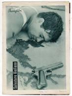 "PROGRAMS FILM ""SALVATOE GIULIANO"" ITALY FILM ACTOR FRANK WOLFF DISTRIBUTED BY VESNA FILM SIZE 22,5X16,5 CM - Programs"