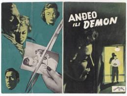 "PROGRAMS FILM ""THE SHRIKE"" AMERICAN FILM ACTOR JIM DOWENS DISTRIBUTED BY CROATIA FILM SIZE 26X19 CM - Programs"