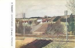 CONCOURS DE DESSIN J. M. PAILLARD 1936-37 R. THIERRY MONTARGIS ILLUSTRATEUR - Illustrateurs & Photographes
