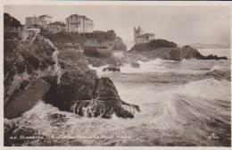 Biarritz Effet De Vague Au Port Vieux - Biarritz