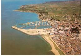 Noirmoutier-(Vendée)-L´Herbaudiere -Le  Port,le Village Et Le Camping-Vue Aérienne - Ile De Noirmoutier