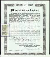 RO) 1943 MEXICO, STOCKS MINAS DEL GRUPO COPERNICO - Shareholdings