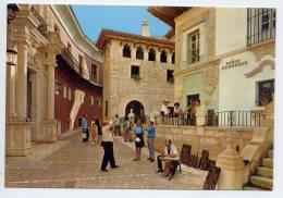Espagne--PALMA DE MALLORCA--PUEBLO ESPANOL--Plaza De Penaflor (très Animée,photographe,sculpteur),cpm éd Casa Planas---- - Palma De Mallorca
