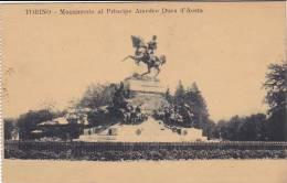 Italy Torino Monumento al Principe Amedeo Duca d'Aosta 1911