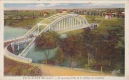 France Bas en Basset Le nouveau Pont et le Gourdon 1941