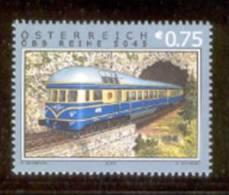 AUSTRIA 2003 Railway Type - OEBB Series 5045 - Mi. Nr. 2425 / ANK Nr. 2459 / Scott No. 1921 - Trains