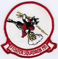 PATCH ECUSSON FIGHTER SQUADRON 191 - Aviazione