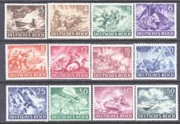 Germany B 218-29  ** - Unused Stamps