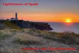 Lighouses Of Spain - Cantabria/Cabo Mayor-Santander Postcard Collector - Faros