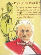LIBERIA 2000 POPE JOHN PAUL II  MNH ** NEUFS MIX1 - Persönlichkeiten