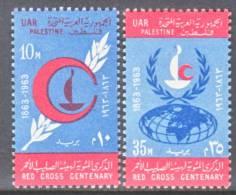 Egypt For Palestine N 96-7  *  RED  CROSS - Egypt
