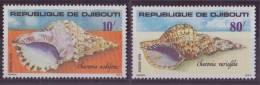 DJIBOUTI N° 486/87** NEUF SANS CHARNIERE COQUILLAGES - Djibouti (1977-...)