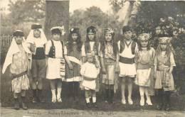 PUCHAY SAUSSAY CARTE PHOTO KERMESSE DU 15/08/1924 - Autres Communes