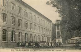 """CPA FRANCE 76 """"Orival Saint Hellier, Colonie Scolaire, Le Chateau D'Eau"""" - Other Municipalities"""