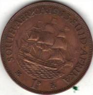 AFRIQUE DE SUD KM 25 1943 1 D  XF++. (FP13) - Afrique Du Sud