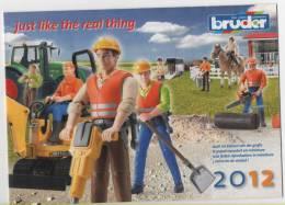 alt165 Catalogo giochi miniature BRUDER, toys, jouets, spielwaren, truck, trattore, tractor, veicoli edili, camion