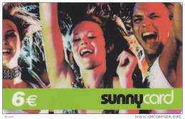 Spain, 6€ Sunny Card, 2 Scans. - Zonder Classificatie