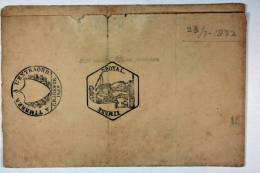 France: Lettre 1832, Marennes , Cache Timbre Royal / A L'extraord., Fragile - 1801-1848: Precursors XIX