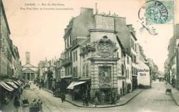 56 LORIENT Rue Du Morbihan , Rue Paul Bert Et Fontaine Monumentale - Lorient