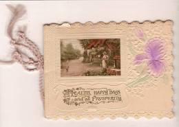 """Carte De Voeux/"""" Health""""/Angleterre/ Vers 1920-1930          CVE9 - Saisons & Fêtes"""