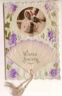 """Carte De Voeux/""""Whishes Sincere""""/Angleterre/ Vers 1920-1930          CVE11 - Saisons & Fêtes"""