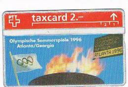 SVIZZERA (SWITZERLAND) - PTT - 1993 OLYMPIC GAMES ATLANTA 1996 CODE 304L   - MINT -  RIF. 4106 - Svizzera