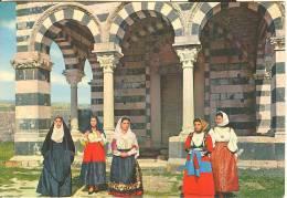 SS018 - Codrongianos (Sassari) - Costumi Sardi All'Abbazzia Della S.S. Trinità Di Saccargia - Altre Città