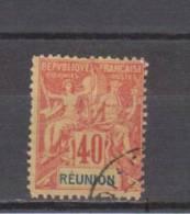 Réunion YT 41 Obl - 1892 - Unclassified
