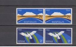 Afrique Du Sud YT 298/305 ** En Paires Horizontales : Indépendance , Diamant , Mines - 1966 - Afrique Du Sud (1961-...)