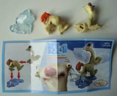 Age De Glace 4. - Sid. - Figurine Kinder DC223, Avec Bpz. - Familles