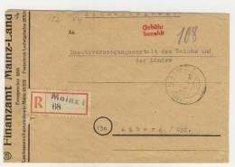 Geb�hr bezahlt Mainz 1948
